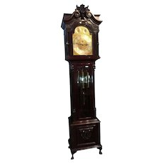 A Very Good English Grandfather clock.