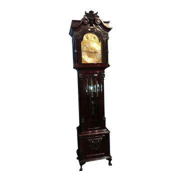 A Very Good English Grandfather clock.