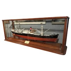 SS Ruckinge shipbuilders model