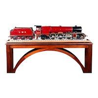 "An English built 3.5"" Gauge live steam locomotive, Princess Royal."