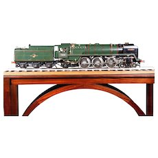 "An English live steam 3.5"" gauge locomotive Britannia."
