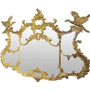 A Magnificent English 19th century Chinese Chippendale design of mirror.