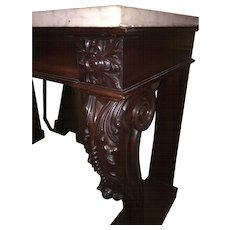 An English Antique George IV period Console Table.