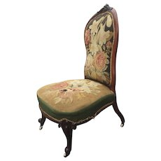 A very good example of an early Victorian spoon back chair.