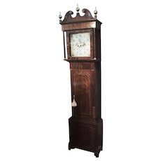 An English early 19th century Grandfather Clock.