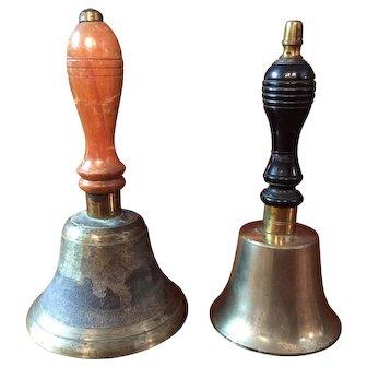 2 English Hand Bells