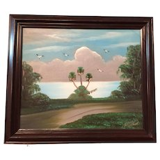 Highwaymen painting, by Al Black.