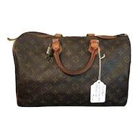 "Vintage Louis Vuitton "" Speedy 35 """