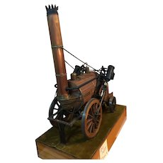 An Automaton model of the English locomotive ROCKET,