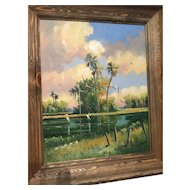 A Highwaymen painting by Tracy Newton