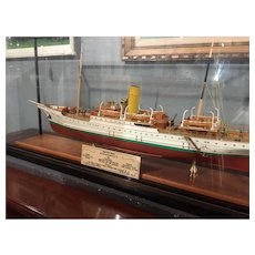 "A Fine Quality Model of a Single Screw Steamer ss "" St. Sunniva ll """
