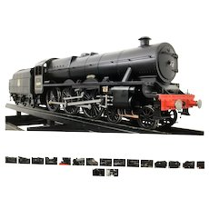 An English live steam locomotive