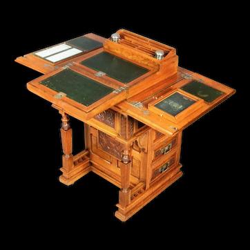 A very Rare design of Davenport Desk.