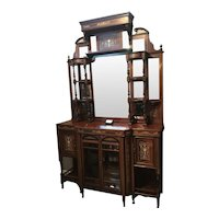 English 19th century Etagere / Display Cabinet