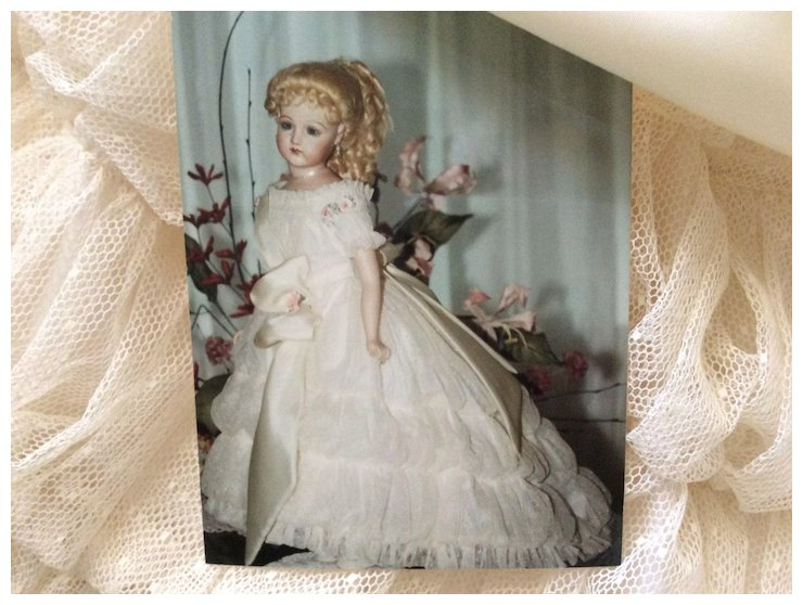9-Piece Beautiful Vintage Ball Gown Set for French Fashion Doll ...