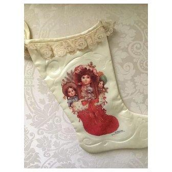 Lovely Dolls Christmas Stocking