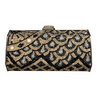 Judith Leiber Cascade Evening Jeweled Handbag