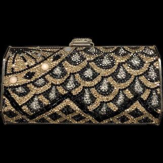 Judith Leiber Cascade Evening Jeweled Handbag