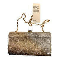 Judith Leiber NWT Cerium Jeweled Evening Bag