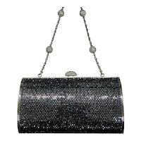 Judith Leiber Cosmo Jet Jeweled Handbag