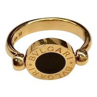 Bvlgari 18K Yellow Gold Ring