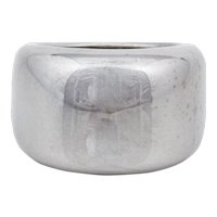 Cartier 18K White Gold Band Ring