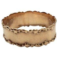 Victorian Cigar Band Ring