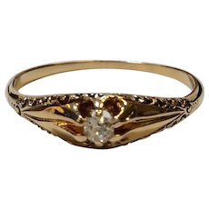 Late Victorian Diamond Ring 1890's