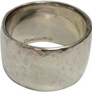 Me&Ro Sterling Wide Band Ring