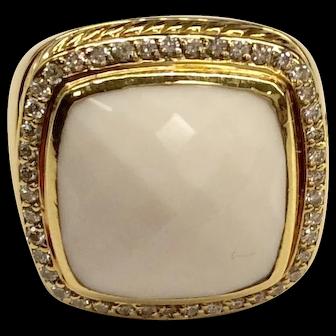 18K Yellow Gold David Yurman Ring