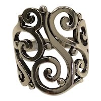 James Avery Sterling Sorrento Ring