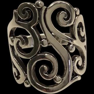 James Avery Sterling Sorrento Ring