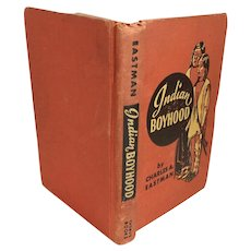 Vintage 1930 Book Indian Boyhood by Charles A. Eastman Ohíye S'a