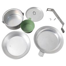 Vintage 1960s BSA Boy Scouts of America Mess Kit Camping Cooking Gear