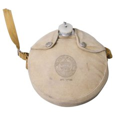 Vintage 1960s BSA Boy Scouts of America Water Canteen with Canvas Cover