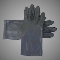 Vintage 1960s Shorties Cafe Length Van Raalte Shiny Fashion Gloves