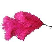 Vintage 1930s Bright Hot Pink Feather Spray Fascinator Hat Supply Halloween Costume Flapper