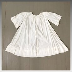 Vintage 1950s Child's Cotton Pullover Angel Dress Choir Robe Costume