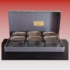 International Silver Co. Silver Plate Dessert Set - Nut Cups