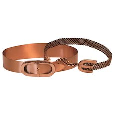 Two Renoir Copper Belts