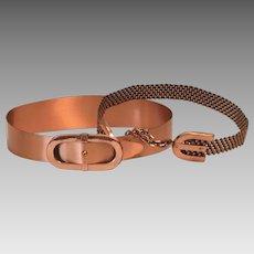 Two Renoir Copper Belts