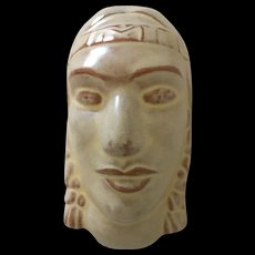 Frankoma Indian Maiden Mask