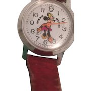 Bradley Minnie Mouse Watch - Winding Stem