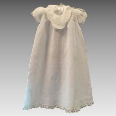 Vintage Christening Gown, Slip and Bib