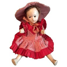 "Madame Alexander 1930's Little Betty Face 9"" Doll"
