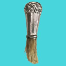 Sterling Silver Shaving Brush