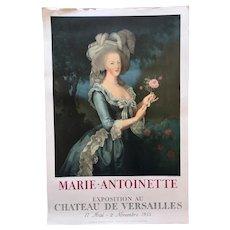 Poster for Marie Antoinette Exhibition 1955, Mourlot Edition