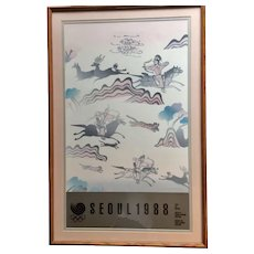 Original Poster Submitted for 1988 Seoul Olympics