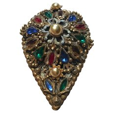 Thief of Bagdad , Korda, 1940's Rhinestone Fur Clip
