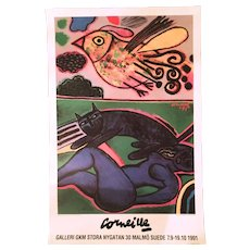 1991 Guilliame Corneille Exhibition Poster